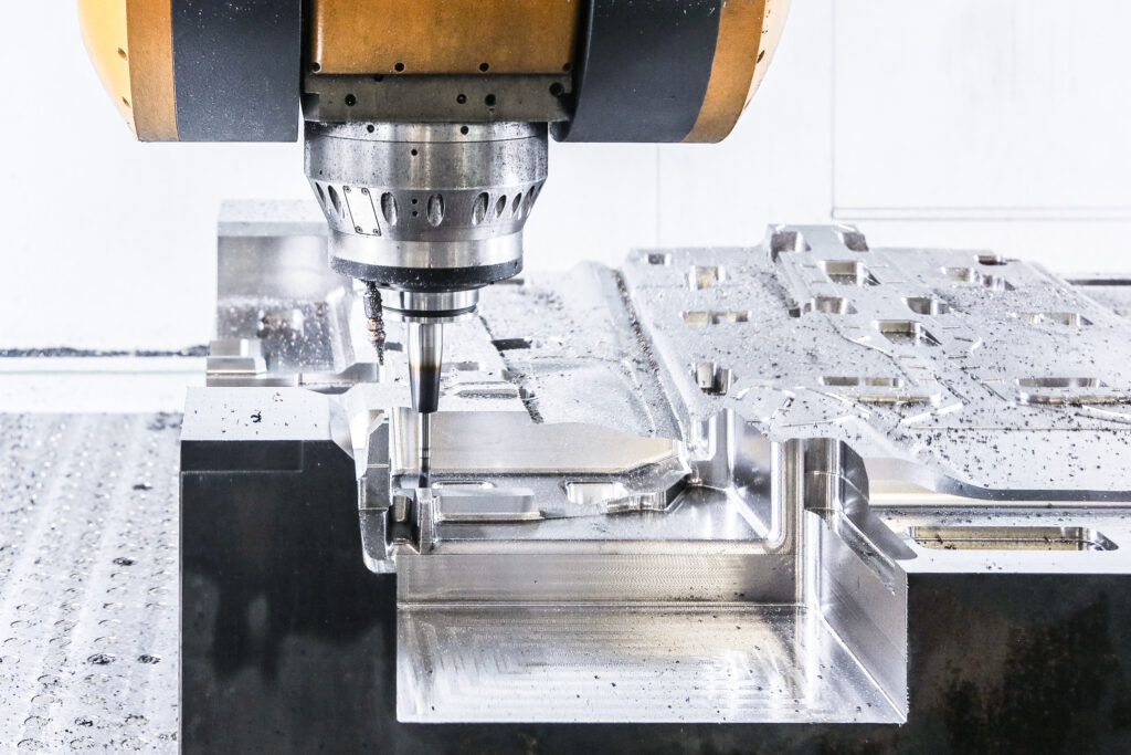 Compression mold building tool